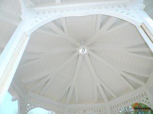 Viktoriánus kerti pavilon